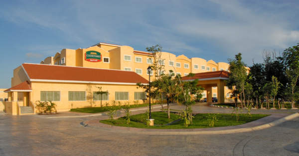 hotel courtyard by marriott cancun